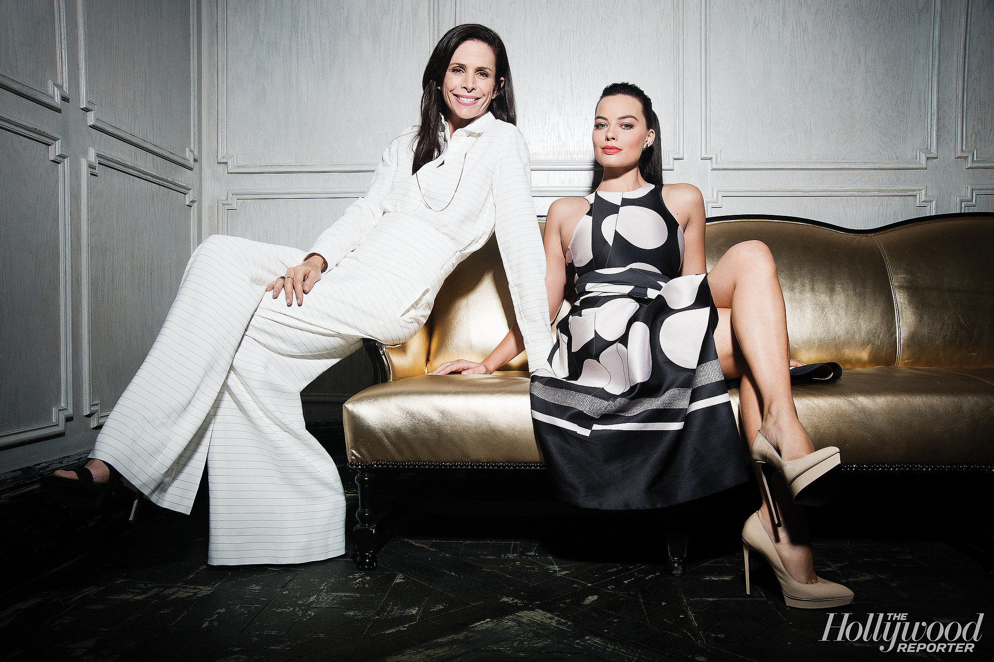 Cristina Ehrlich and Margot Robbie