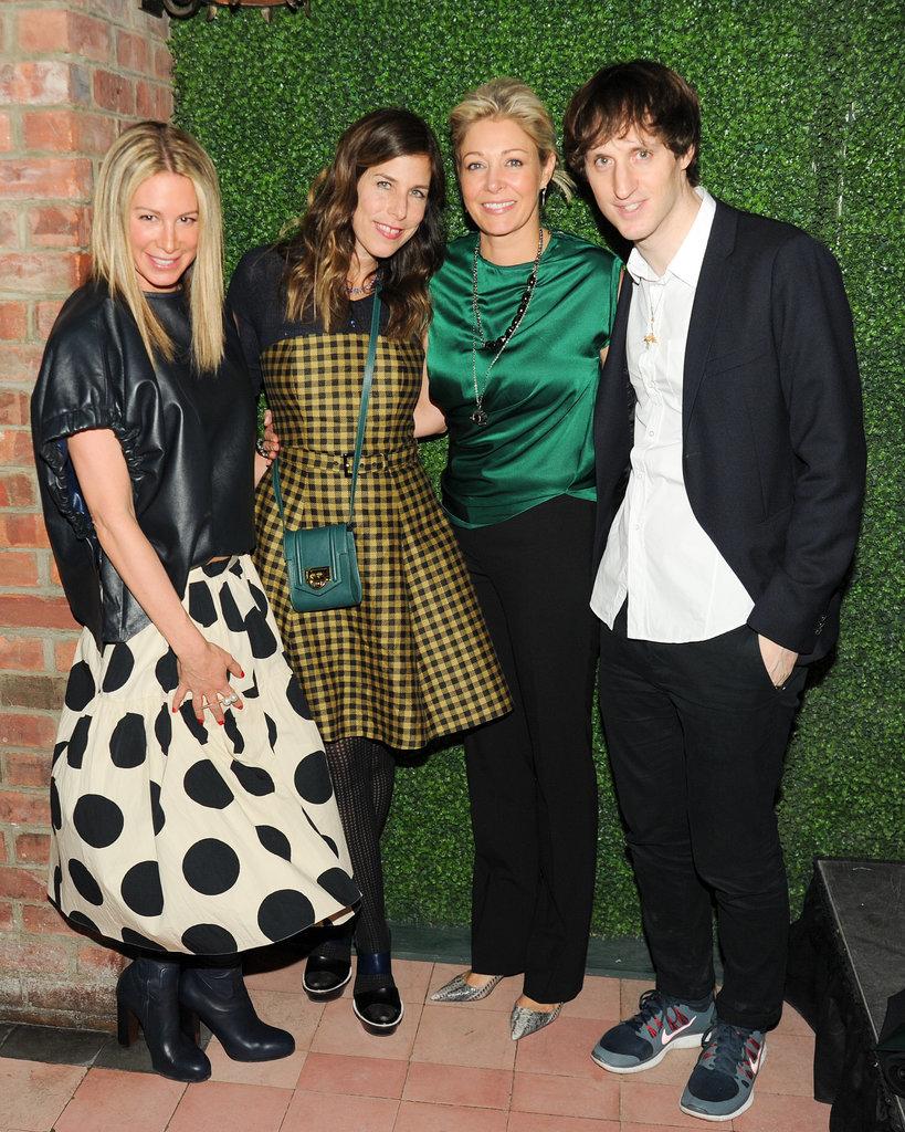 Jennifer Fisher, Irene Neuwirth, Nadja Swarovski, and Marc Alary