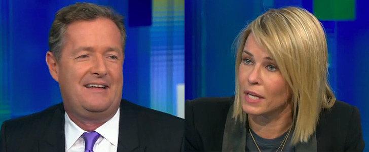 Things Got Really Awkward Between Piers Morgan and Chelsea Handler This Week