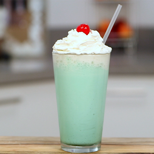 Homemade McDonald's Shamrock Shake Recipe | POPSUGAR Food