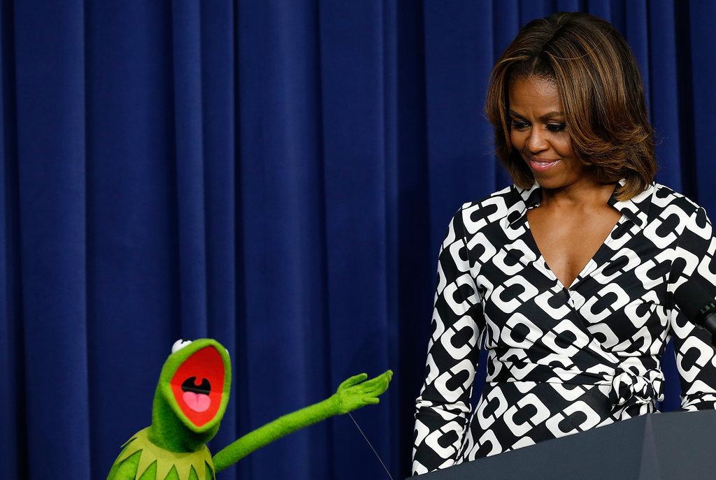 """Kermit was like, """"Isn't she the best?!"""""""