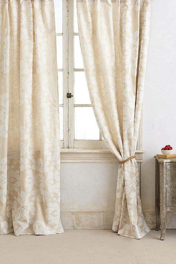Creamy Curtains