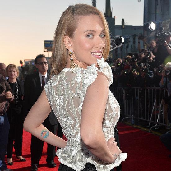 Scarlett Johansson Pregnant At Captain America Premiere