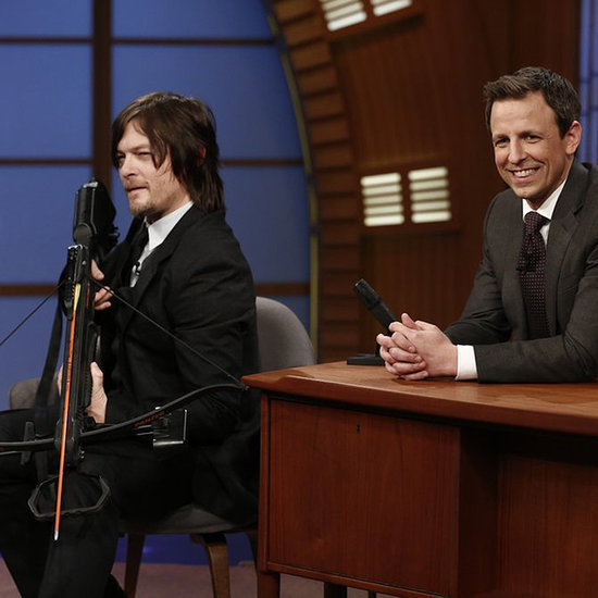 Norman Reedus Interview With Seth Meyers