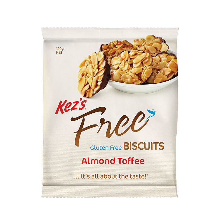 Kez's Almond Toffee Biscuits, $7.45