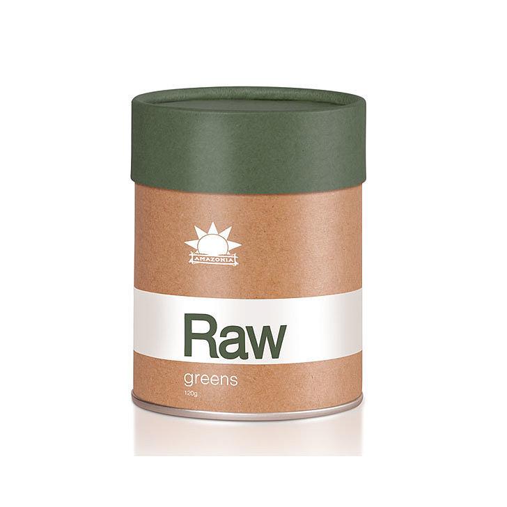 Amazonia Raw Greens, $34.95