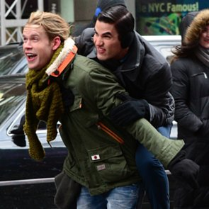 Chord Overstreet Arrested On Glee Set in New York