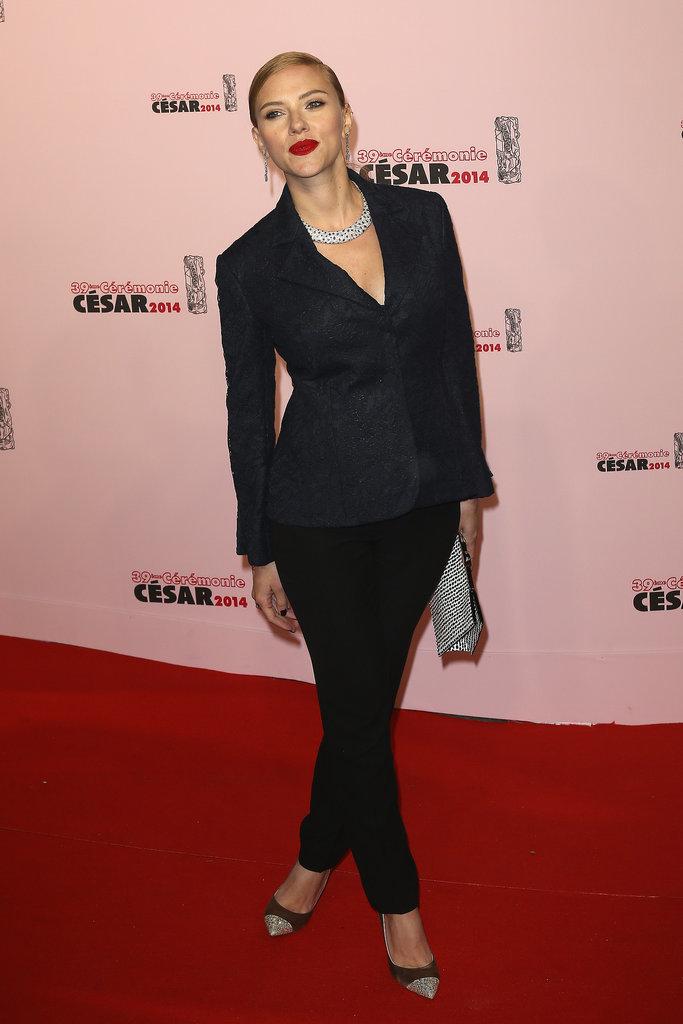 Scarlett Johansson at the Cesar Film Awards