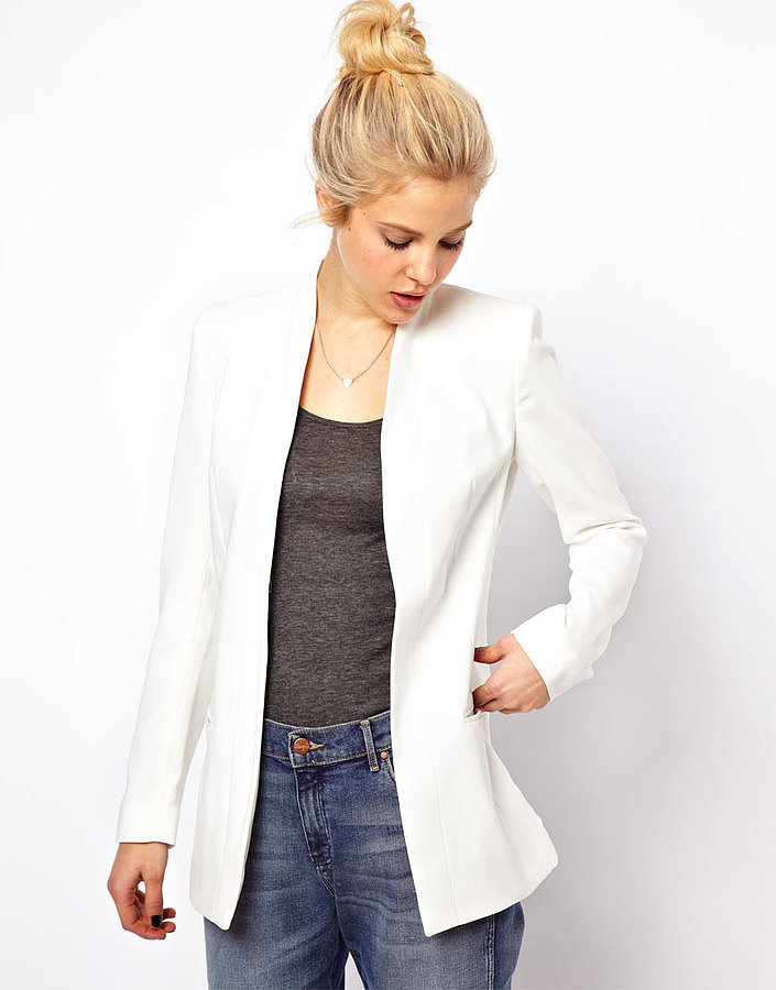 The White Blazer