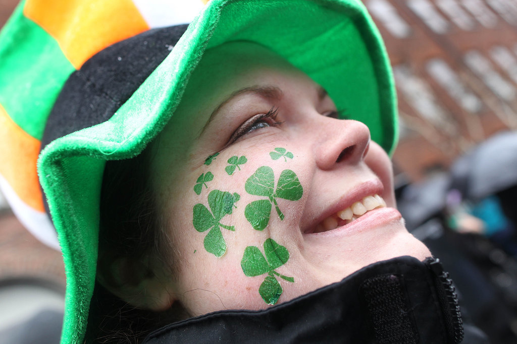 Or opt for shamrock tattoos.