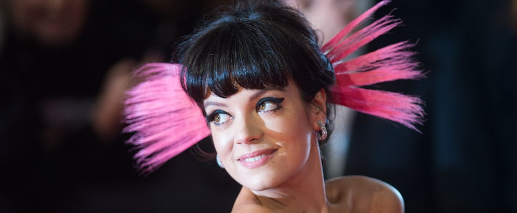 Why There Was a Moment of Panic With Lily Allen's Wedding Dress