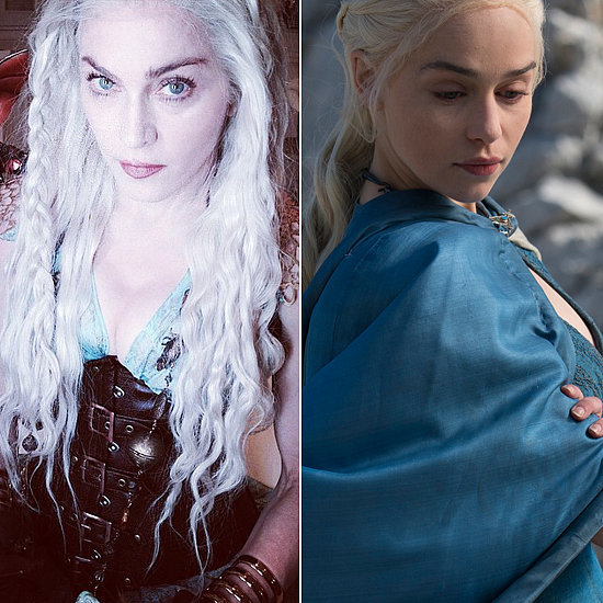 Who Knew Madonna Is a Game of Thrones Fan?