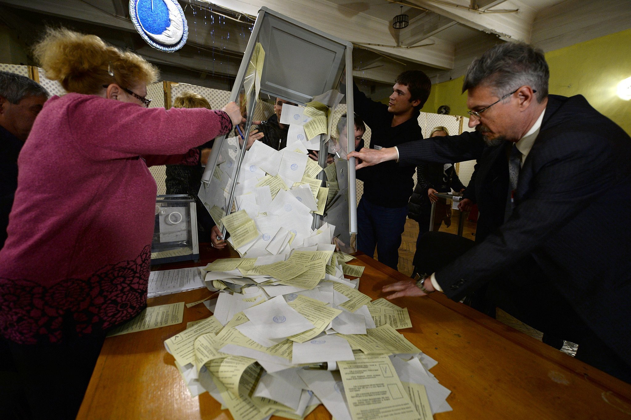 On Sunday, the vote went ahead despite international objections. Officials in Crimea said 97 percent of voters backed leaving Ukraine to join Russia. The referendum was called quickly by pro-Russia officials in the region.