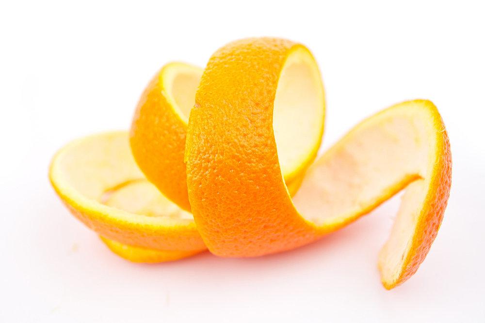 Eating Peel of Orange Orange Peels