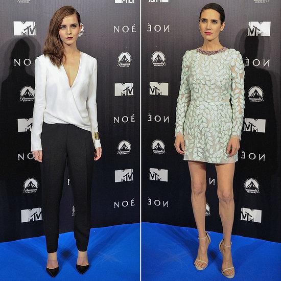 Emma Watson at the Noah Madrid Premiere