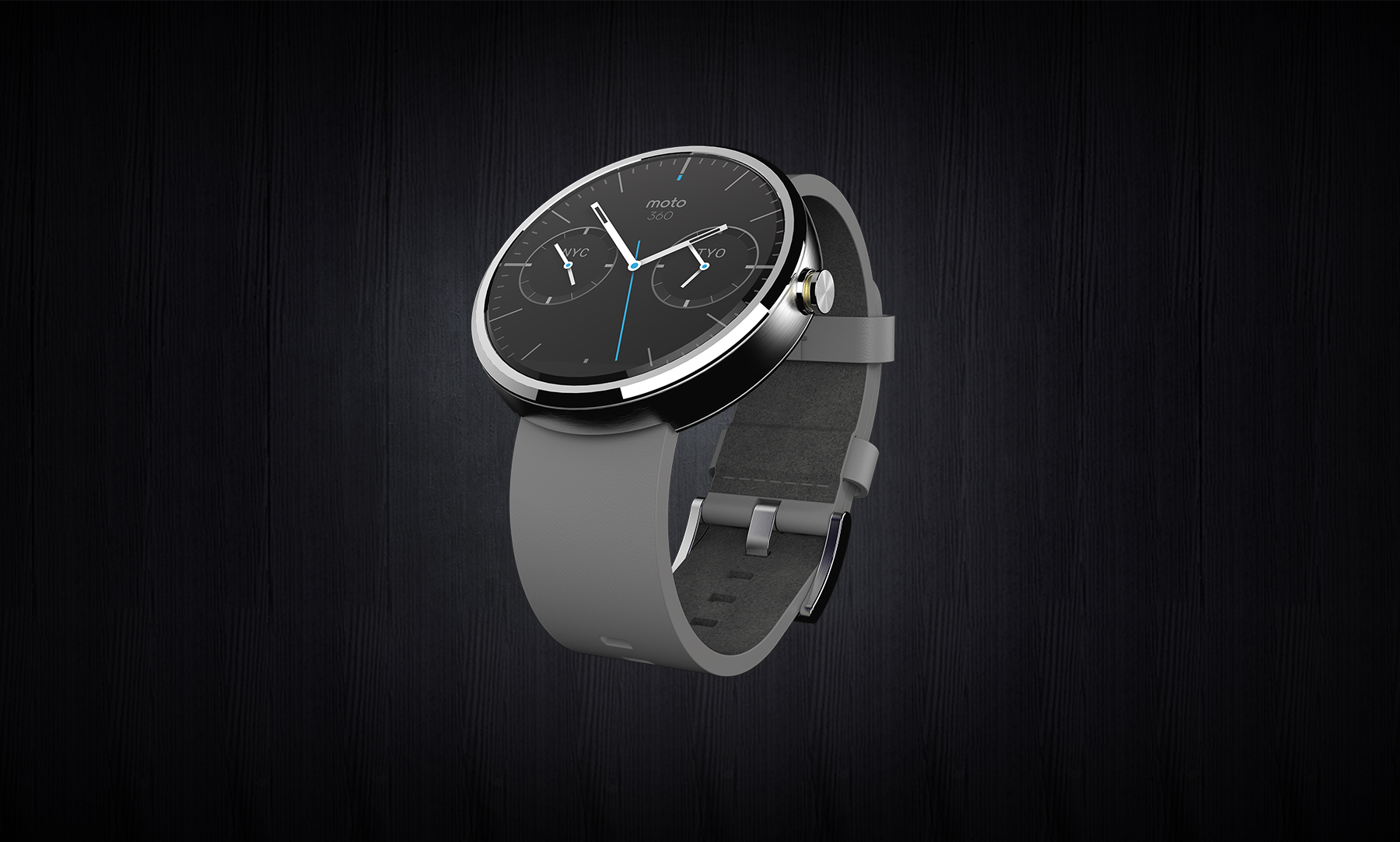 Moto 360 With Leather Band