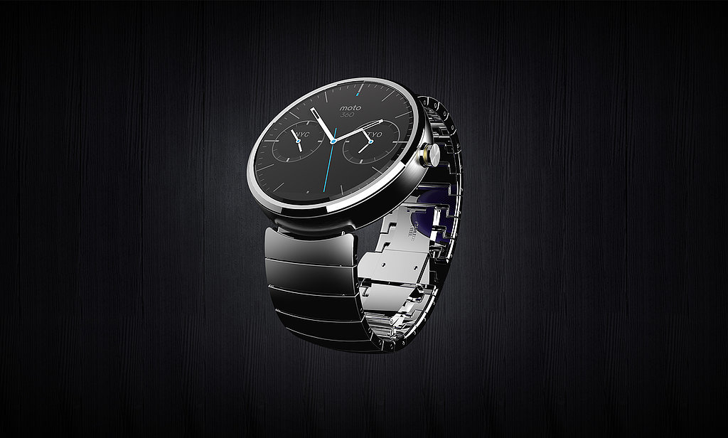 Moto 360 With Metal Band