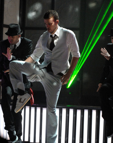 "When he was all lasers and ""LoveStoned"" at the 2007 VMAs."