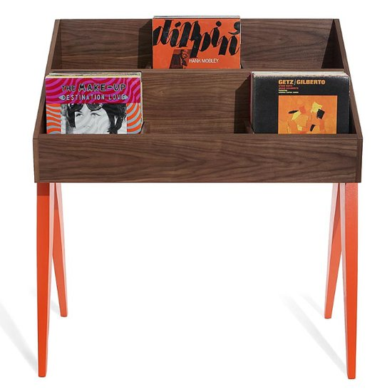 Record Storage Stand