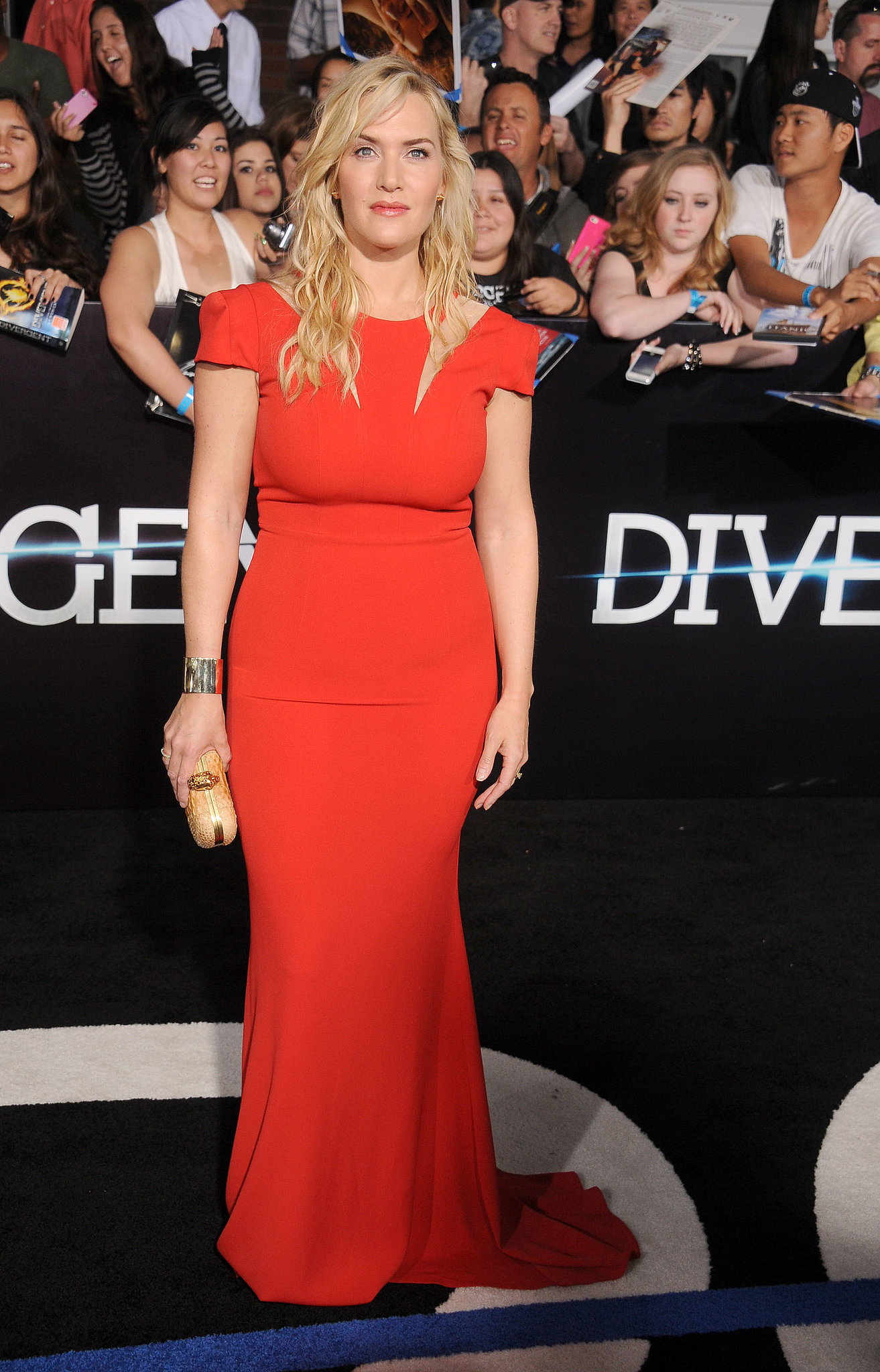 Kate Winslet at the Divergent Los Angeles Premiere | Did a ...