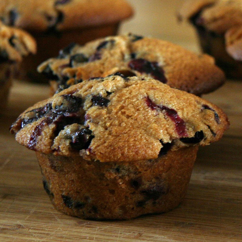Healthy Blueberry Muffins | POPSUGAR Fitness