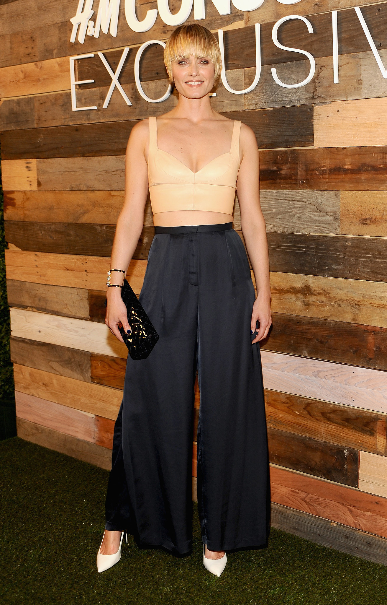 Amber Valletta Wearing H&M Conscious Collection