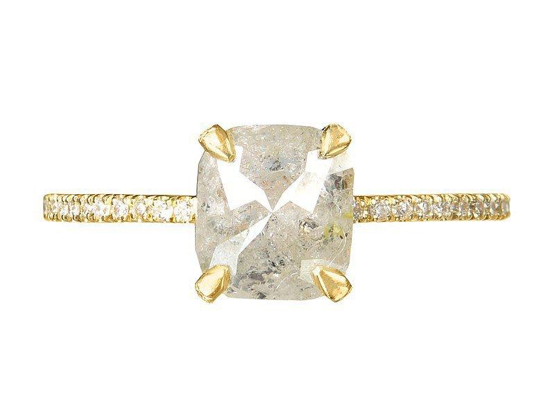 Robin Haley Gray Diamond Ring ($3,898)