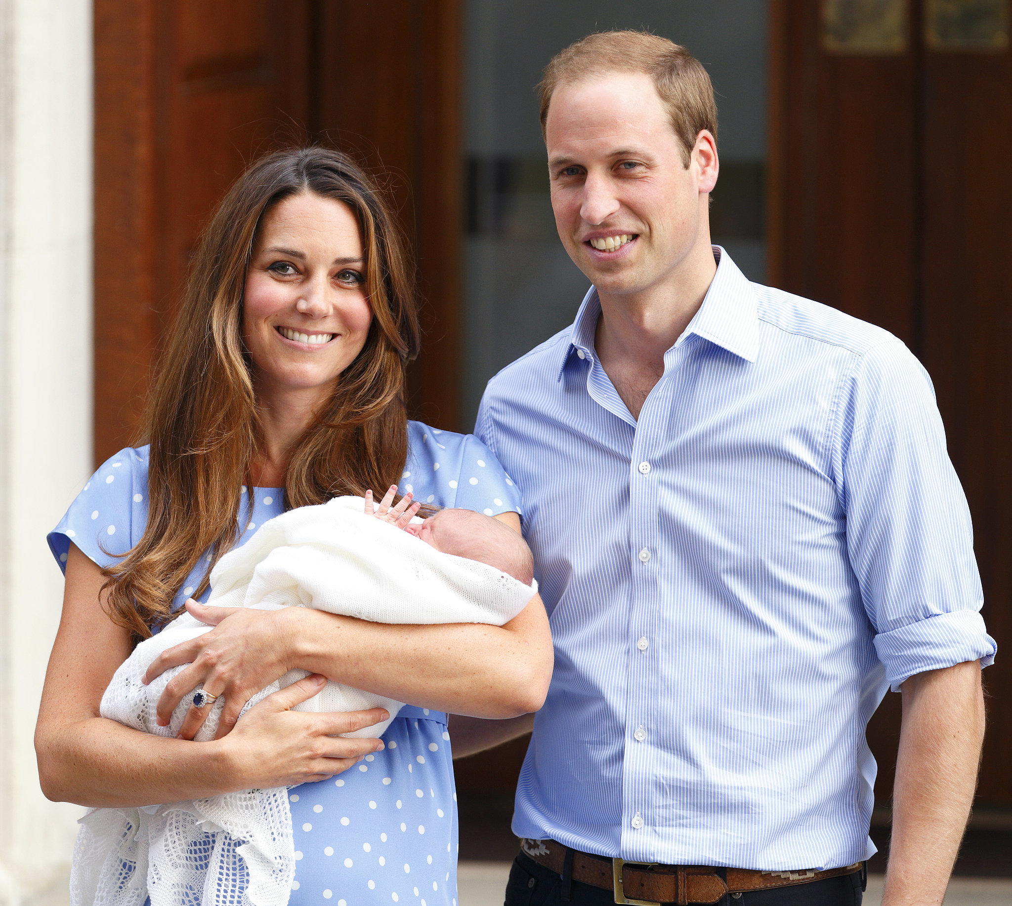 Prince George Nailing the Royal Wave at Just 1 Day Old