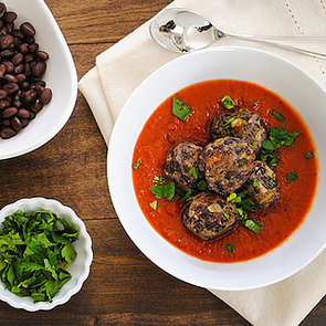 Black Bean Meatless Meatballs Recipe