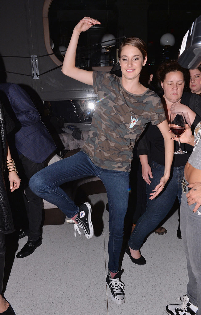 Shailene Woodley at the Marie Claire Divergent Afterparty