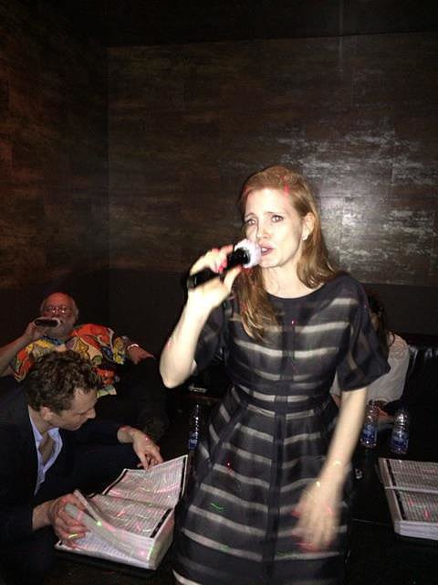Source: Facebook user Jessica Chastain