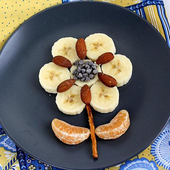 Flower-Shaped Foods For Kids