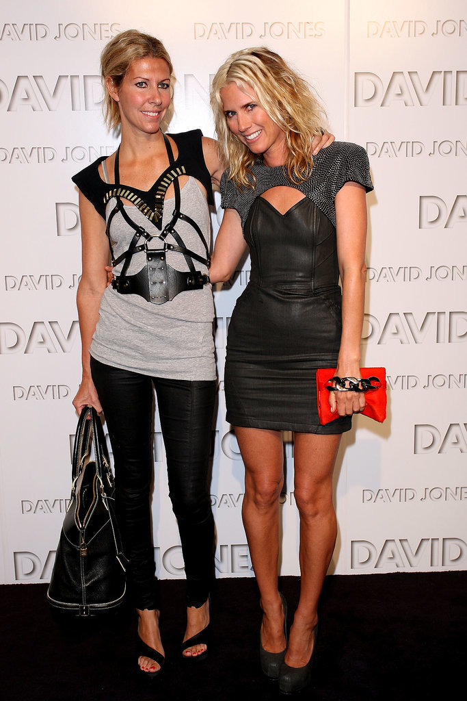 Sarah-Jane Clarke and Heidi Middleton at the 2010 David Jones Autumn/Winter Launch