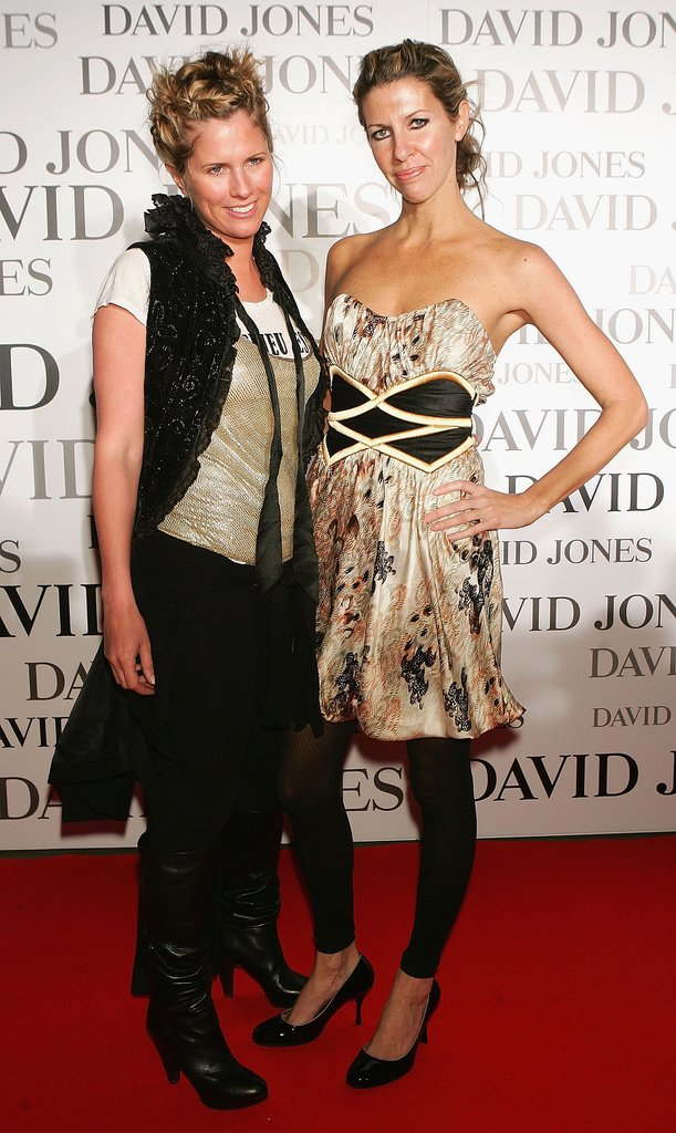 Sarah-Jane Clarke and Heidi Middleton at  David Jones Tahitian Summer Collection Launch