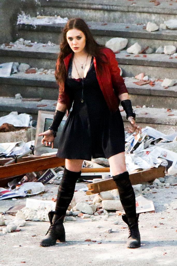 Elizabeth Olsen the avenger