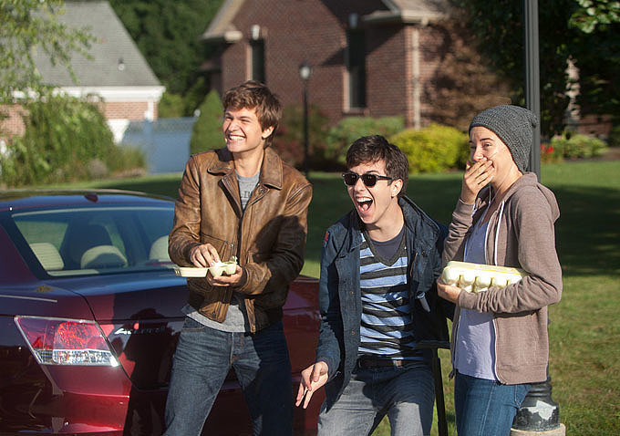 Nat Wolff plays Isaac, BFF to both Gus and Hazel.