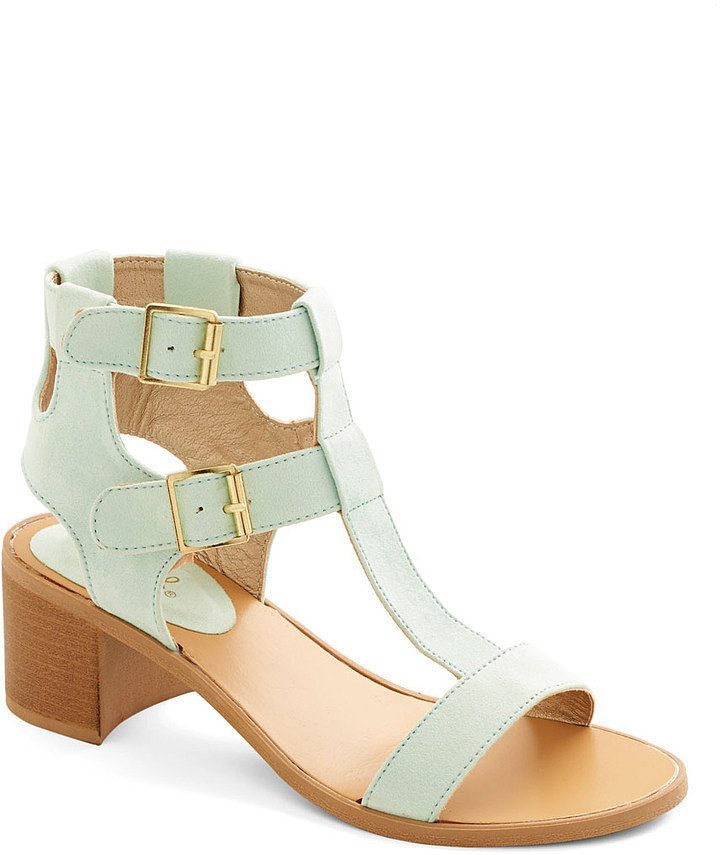 Modcloth Candy-Making Conference Heel ($35)