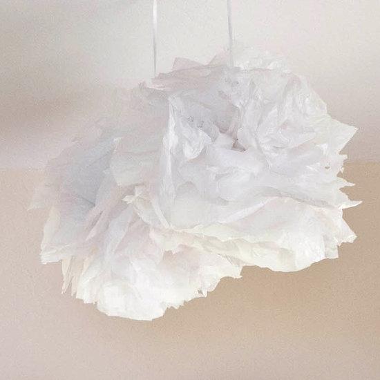 DIY Plastic Bag Pom-Poms