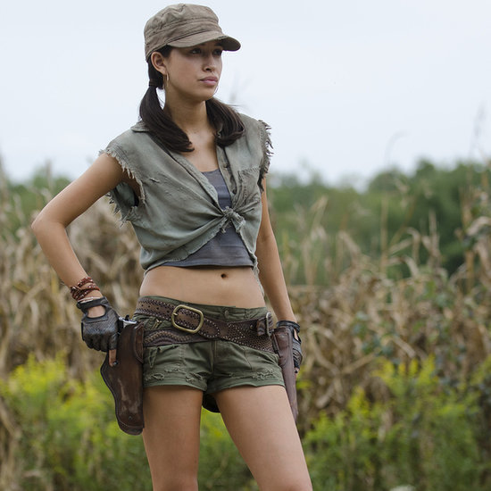 Walking Dead Season Finale Interview With Rosita | Video