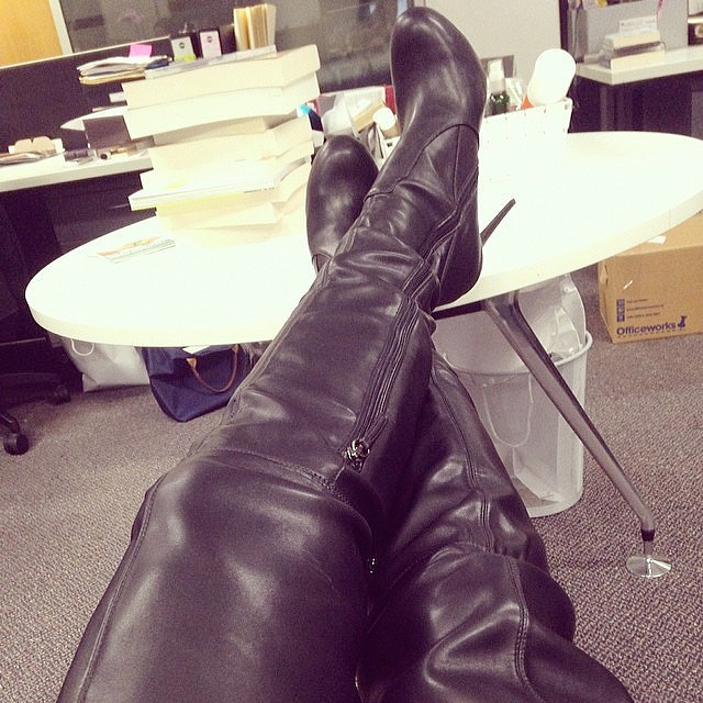 Soft Leather Thigh High Boots Boots And Heels 2017
