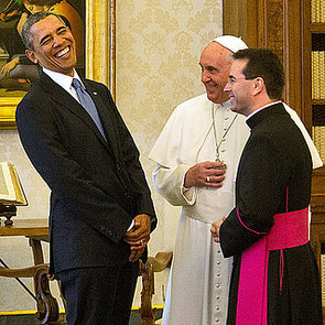 Barack Obama Meeting Pope Francis | Pictures