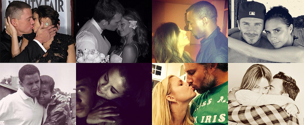 These Celebrities Aren't Shy About Sharing #PDA