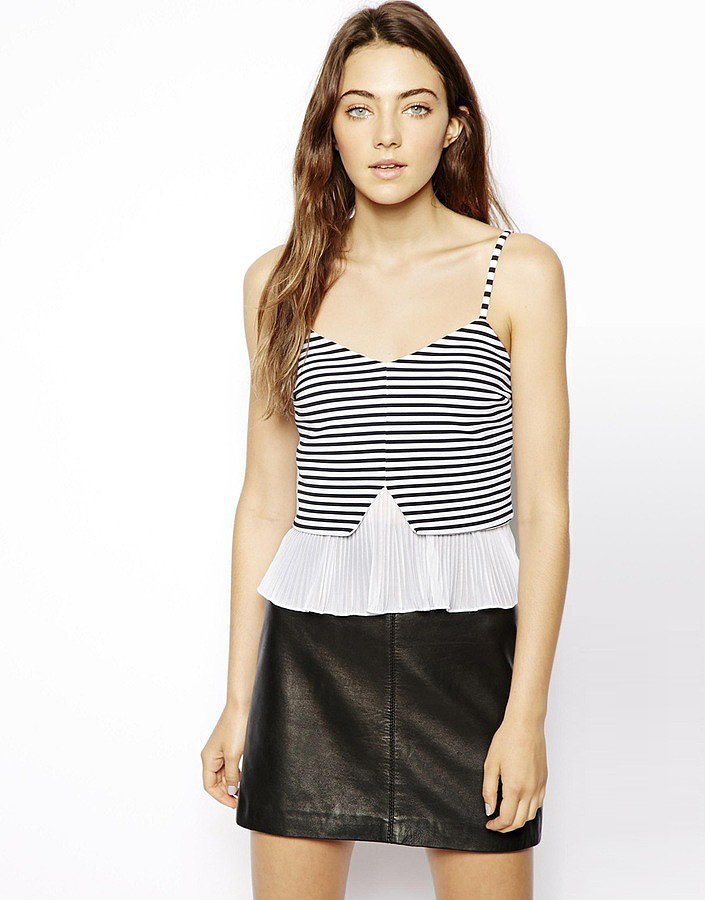 ASOS Pleated Top