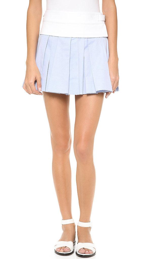 Alexander Wang Pastel Pleated Skirt