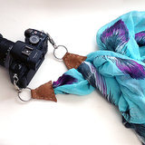 DIY Scarf Camera Strap