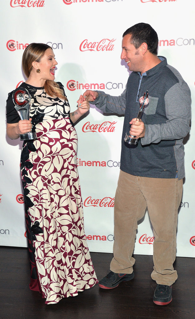 Drew Barrymore and Adam Sandler's adorable lovefest continued at CinemaCon.