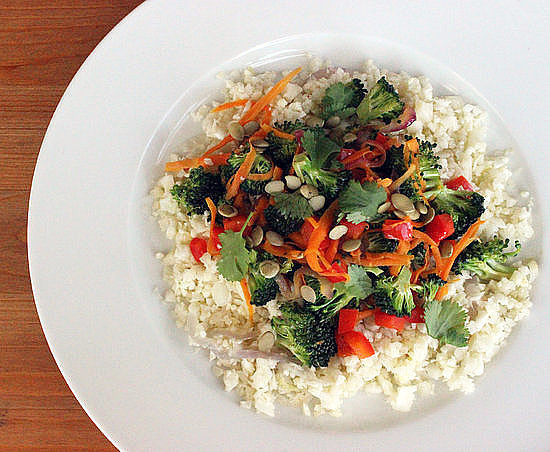 "Wednesday: Cauliflower ""Rice"" Stir-Fry"