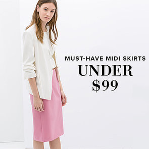 Cute Spring Midi Skirts Under $99 | Shopping