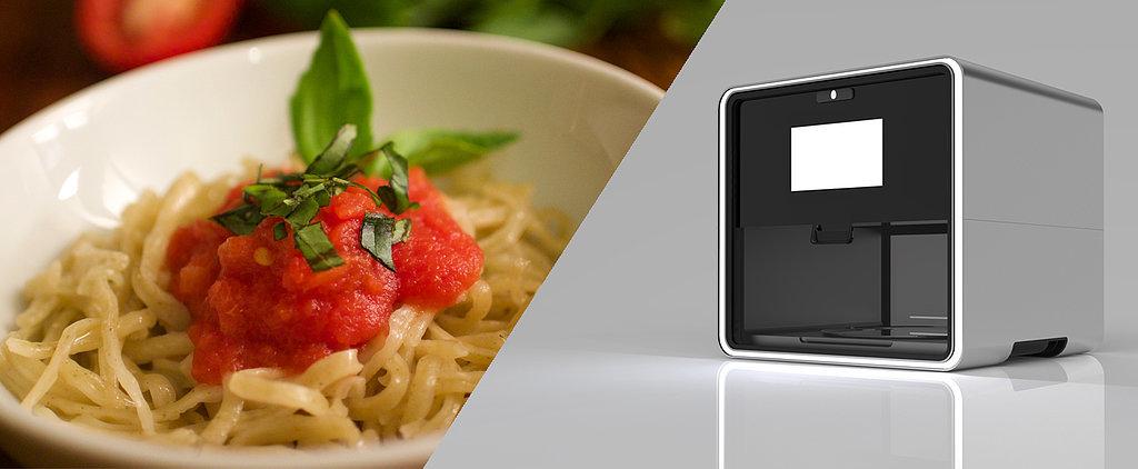 The Magical Foodini Prints Fresh, Healthy Food