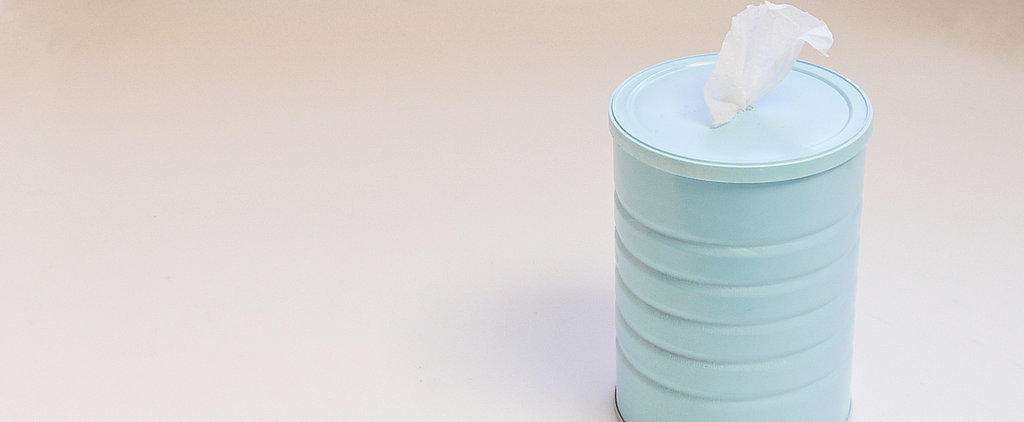 Make Your Own: Homemade Cleaning Wipes and Canister